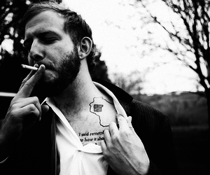 bon iver, tattoo, and justin vernon image
