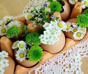 decoration, easter, and flower image