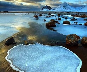 iceland, landscape, and nature image