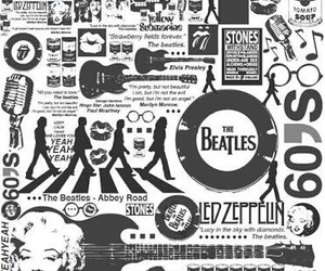60s, the beatles, and music image