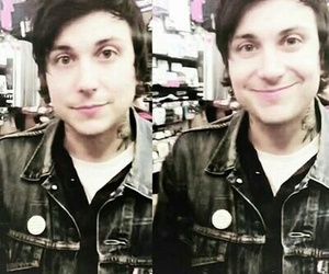 frank iero, mcr, and smile image