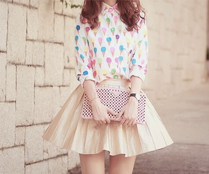 kfashion, dress, and ulzzang image
