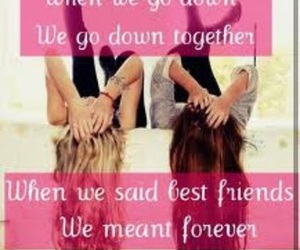 forever, best friends, and friends image
