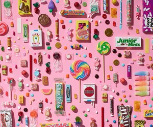 candy, food, and pastel image