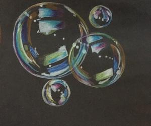 arte, burbujas, and draw image