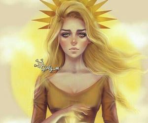 girly_m, art, and sun image