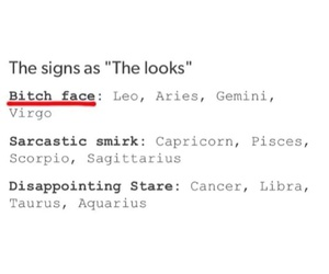 faces, funny, and horoscope image