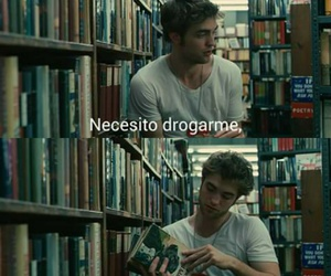 books, amor, and frases image