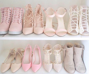 closet, heels, and style image