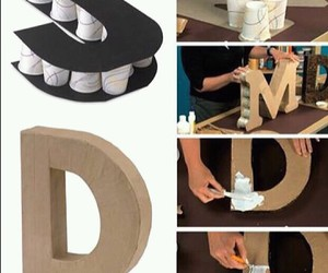 diy and Letter image