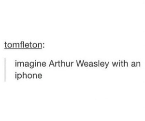 harry potter and arthur weasley image