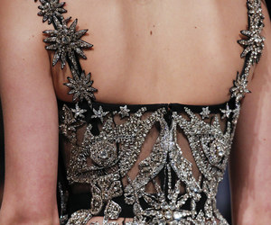Alexander McQueen, detail, and Couture image