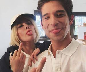 halsey, tyler posey, and colors image