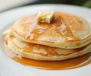 pancakes, food, and butter image