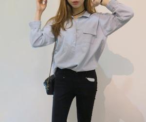 girls, korean, and ulzzang image
