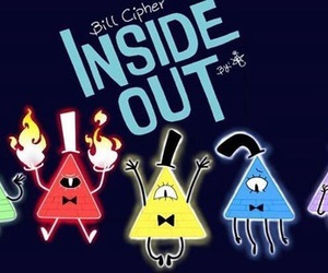 gravity falls and inside out image