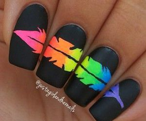 :3, beauty, and nails image
