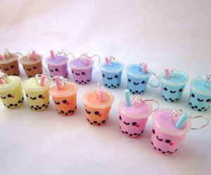 kawaii, cute, and bubble tea image