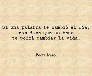 kiss, love, and frases image