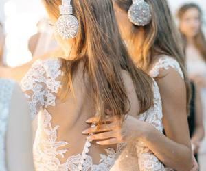 diamonds, headphones, and lace image