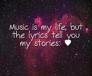music, Lyrics, and life image