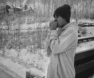 justin bieber, justin, and winter image