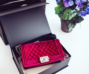 chanel, luxury, and red image