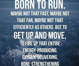 fitness, run, and motivation image