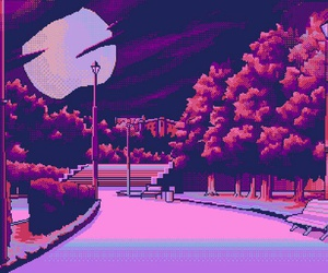 pixel, pink, and art image