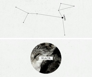 black, book, and constellation image