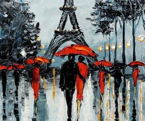 paris, background, and art image