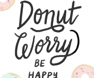 donuts, wallpaper, and happy image