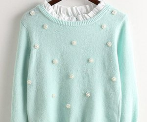 sweater and pastel image