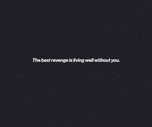 quote, text, and revenge image