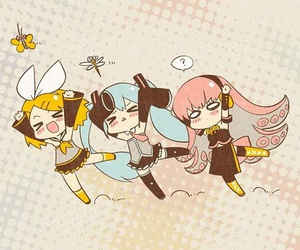 vocaloid, chibi, and miku image