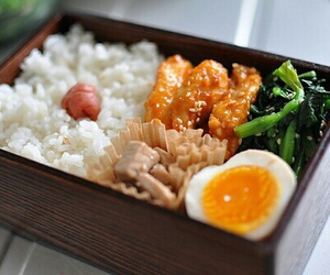 food, rice, and bento image
