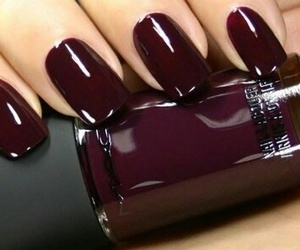 girl, nail, and stylé image