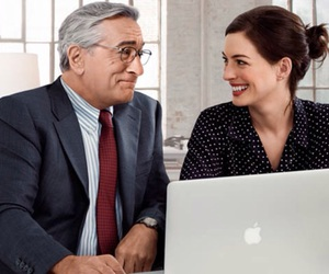 Anne Hathaway, movie, and the intern image