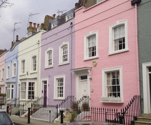 house, pink, and pastel image