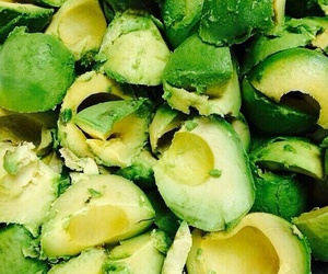 avocado, food, and green image