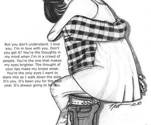 feelings, heartbroken, and hug image