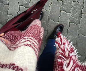 autumn, bag, and style image
