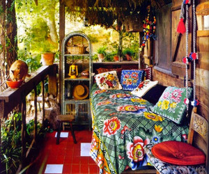 bohemian and hippie image