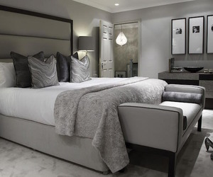 bedroom, luxury, and design image