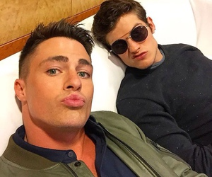 colton haynes, teen wolf, and daniel sharman image