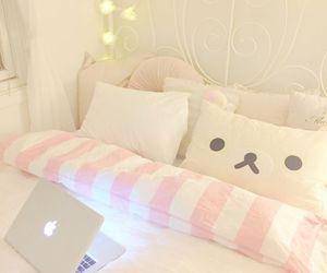 room, bed, and kawaii image