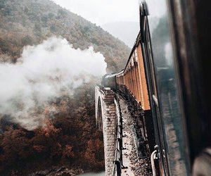 train and travel image