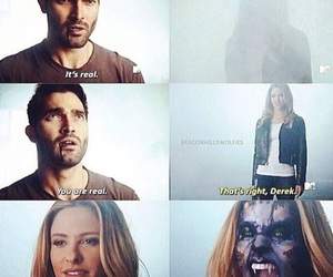 tyler hoechlin, teenwolf, and jill wagner image