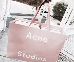 fashion, pink, and acne studios image