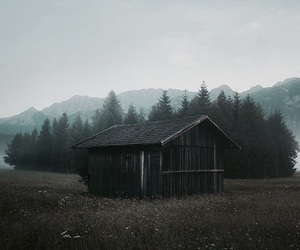 beautiful, dark, and house image